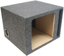 Single 10 Kicker Vented Car Sub Enclosure Square L3 L5 L7 Ported Subwoofer Box