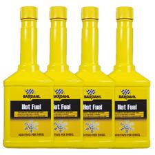 Bardahl Hot Fuel Additivo Diesel Nafta Anticongelante Gasolio 4x250 ml