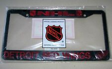 Detroit Red Wings - NHL Hockey Plastic Commemorative License Plate Frame