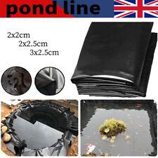 Fish POND LINER Garden Landscaping Pool Plastic Thick Heavy Duty Waterproof uk