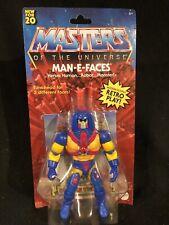 Masters of the Universe MOTU Origins Man E Faces 2020 He-Man NIB Box Not Mint