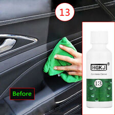 50ml Car Auto Care Interior Leather Seat Sofa Polish Wax Panel Dashboard Cleaner