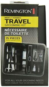Remington 15-Piece Men's Travel Grooming Kit 5000, TLG100, PG165