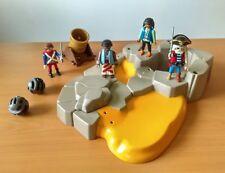 Playmobil Lot Ile Aux Pirates - Canon épées personnages - TBE
