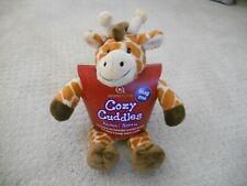 NEW Aroma Home Giraffe Plush Stuffed Cozy Cuddles Animal Hottie Microwaveable