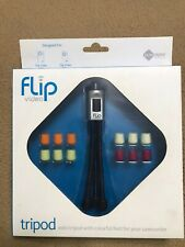 Flip Video Tripod Mini for Camcorder With Five Changeable Feet Colors