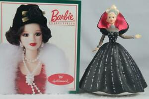 Hallmark 1998 'Holiday Barbie' 6th In The Holiday Barbies Series New In Box
