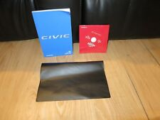 2017 Honda Civic COUPE OWNERS MANUAL BOOK  SET  + CASE   + NAVIGATION ALL TRIMS
