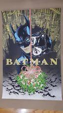 Batman Returns Screen Print/Poster Yuko Shimizu Mondo DC Catwoman