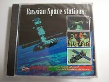 Brand New Russian Space Stations Multimedia PC Game Win 3.1 & 95 1996 Vintage