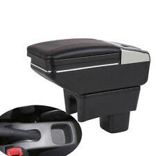 For SUZUKI Swift 2005-14 Car Interior Armrest Storage Box Storage Bag Rotatable
