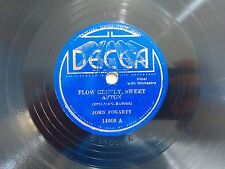 SCOTCH 78 JOHN FOGARTY DECCA 14000 Flow Gently Sweet Afton 1934 1st in Series V+