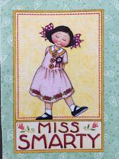 Mary Engelbreit Artwork-Miss Smarty-Handmade Magnets