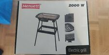 Electric barbecue, 2000W new in box, imported from Sweden, size of grill 38x22cm