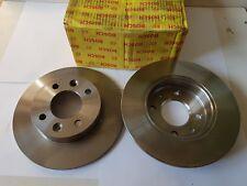 Bosch 0986478273 2x Bremsscheibe Original Brake Disc Disco de Freno BD218