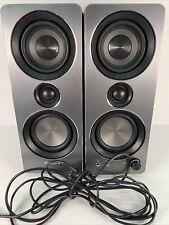 Philips SPA8210/37 Multimedia Aux Speakers Pc 2.0 (Black) Used Lightly 🔊🔊🔊🔊