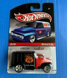 2009 Hot Wheels Delivery '49 Ford C.O.E. Real Riders FREE Protector