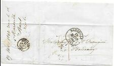 FRANCE ENTIRE 19/3/1842; MARSEILLE - BORDEAUX;A COMPLETE PERFECT ITEM.