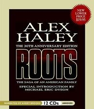 Roots : The Saga of an American Family by Alex Haley (2008, CD, Abridged)