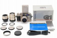 [NEAR MINT] Contax G1 Rangefinder Kit w/ TLA-140, 3 Zeiss Lens from Japan #304