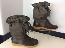 Marc by marc Jacob's NEW  KHARKI green Boots BNWOB size 37 Uk 4 Women's Ladies
