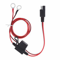 Battery Tender SAE DC Power Automotive DIY Connector Cable with Fuse D lE