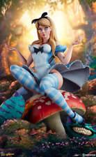 Sideshow Fairytale Fantasies Alice in Wonderland Statue
