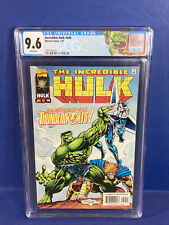 The Incredible Hulk #449 👊🏽 CGC 9.6 1997 1st Thunderbolts Winter Soldier 🔥