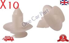 10x FIAT door trim panel card fixing clips plastic fastener car