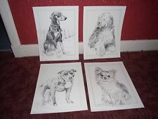 Rare Pollyanna Pickering Dog Breed Prints