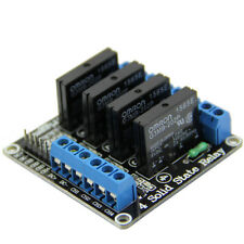 5V 4 Channel OMRON SSR G3MB-202P Solid State Relay Module with Resistive Fuse ne