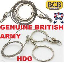 BRITISH ARMY GENUINE BCB SURVIVAL NATO COMMANDO WIRE SAW SAS RAF SF TA CAMP HIKE