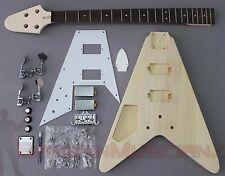 Bargain Musician - BK-003L - LEFT DIY Unfinished Project Luthier BASS Guitar Kit