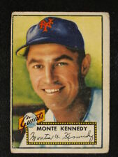 1952 Topps #124 Monte Kennedy Giants