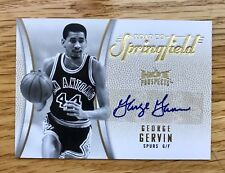 GEORGE GERVIN 2008-09 FLEER HOT PROSPECTS ROAD TO SPRINGFIELD SP AUTO /10 SPURS