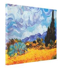 Wheat Field with Cypresse Van Gogh Fine Art CANVAS Print Giclee Gallery Wrap LG