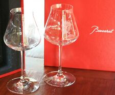 More details for rolling stones baccarat crystal glasses – x2 wine glasses – new in packaging