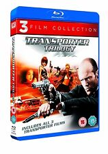 THE TRANSPORTER 1 2 3 TRILOGY BLU RAY 3 DISC SET JASON STATHAM