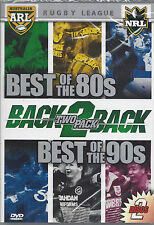 NRL Best of the Eighties 80's & Nineties 90's (2 Disc DVD) Free Post