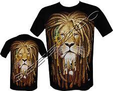 New Lion Of Judah Rasta Rastafari Reggae Bob Marley T Shirt M - XXL