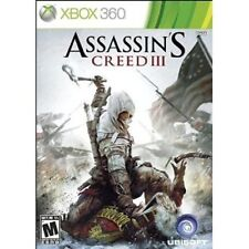 ASSASSIN'S CREED III (XBOX 360) , Brand NEW