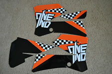ONE INDUSTRIES CHECKERS GRAPHICS  KTM85 SX SX85 KTM85SX 85SX   2006 -2012
