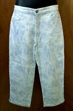 BILL BLASS CAPRI PANTS TOILE Pattern 1990s Designer Brand STRETCH sz 8P 8 Petite
