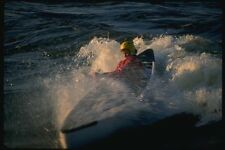155063 Canoe Surfing Ottawa River Ontario A4 Photo Print