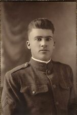 MILITARY WWI CORPORAL IN UNIFORM PHOTO