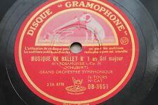 ♪ GRAND ORCHESTRE SYMPHONIQUE ♪ Disque 78 tours N° 78-485