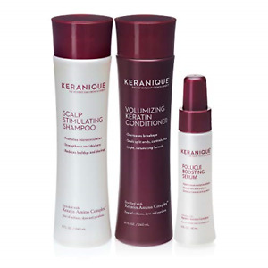 Keranique 60 Day Hair Boost Kit   Shampoo, Conditioner and Follicle Boosting    