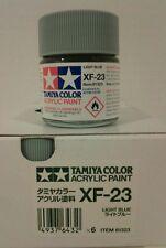 Tamiya acrylic paint XF-23 Light blue 23ml.