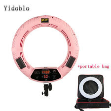 18 inch Photography Selfie Beauty LED Ring Light Dimmable Studio Photo Lamp&Bag