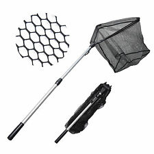 MadBite 20'' Telescopic Hand Fishing Net Safe Catch & Release Fish Landing Net